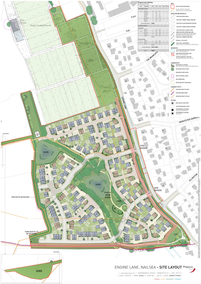 Engine Lane Nailsea Plans