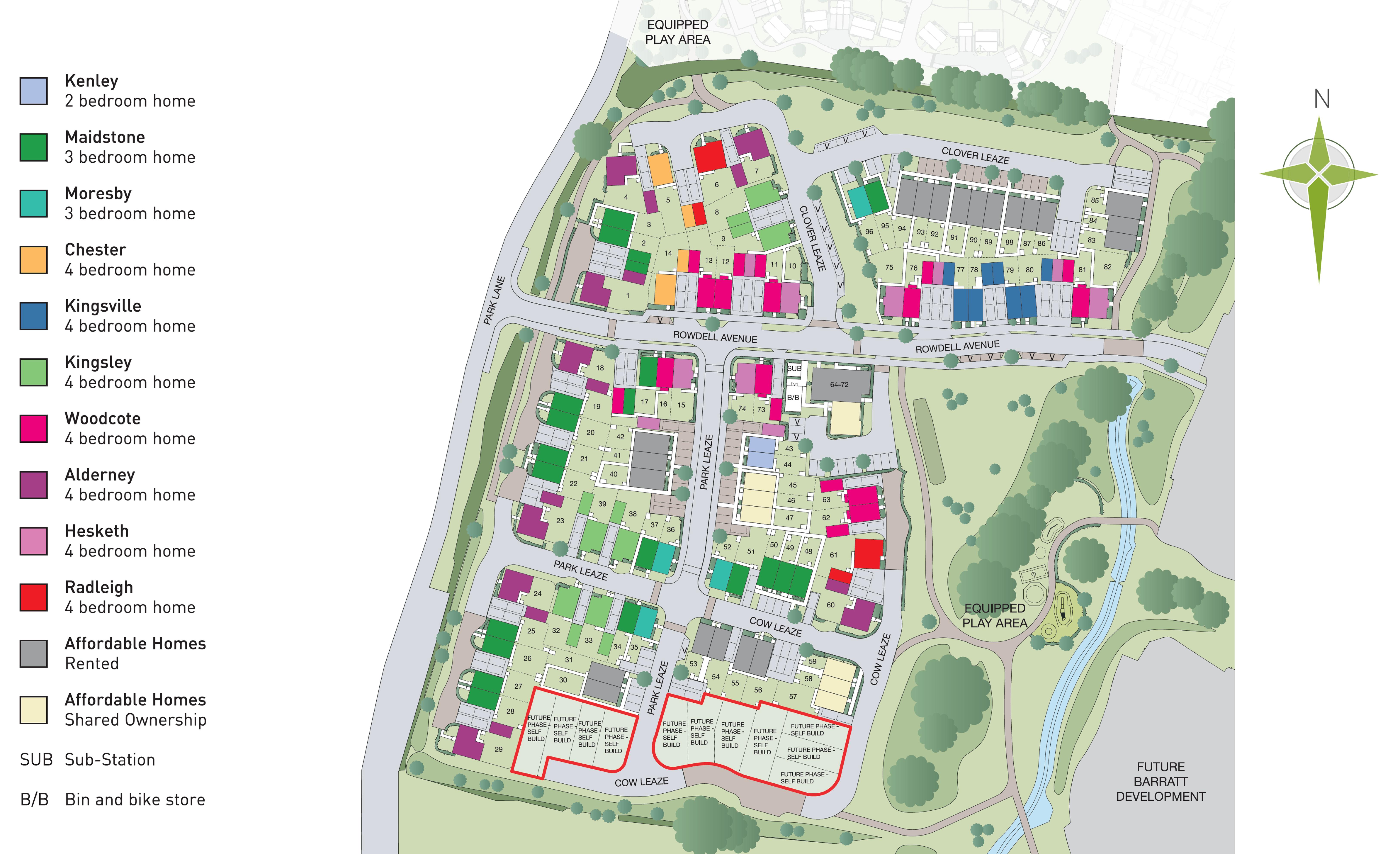 Blackberry Park Site Plan