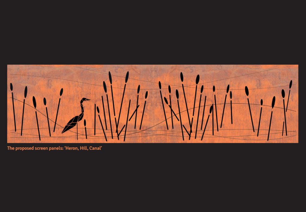 Wichelstowe Heron Panel