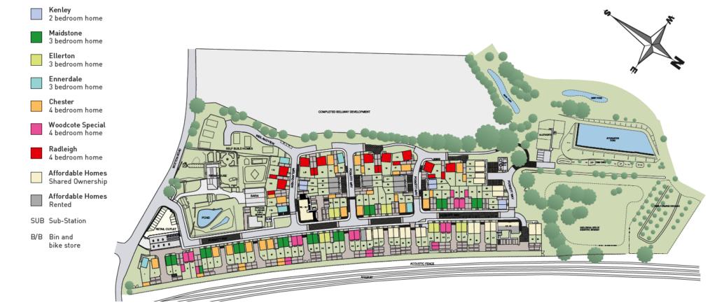 Charfield Site Plan