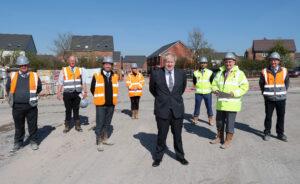 Boris Johnson at Great Oldbury
